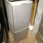 買取金額 7000円 MITSUBISHI 2015年製 MR-P15Y-S 146L 2ドア冷蔵庫