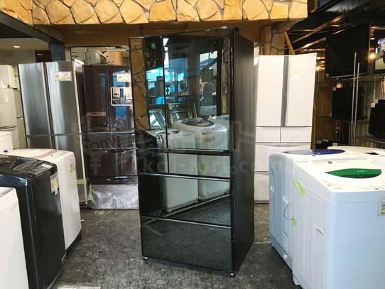 日立6ドア冷蔵庫 R-X6700E-ZV
