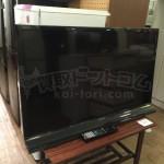 買取金額 25,000円 SHARP/シャープ 40V型 デジタルハイビジョン液晶テレビ AQUOS/アクオス LC-40J9