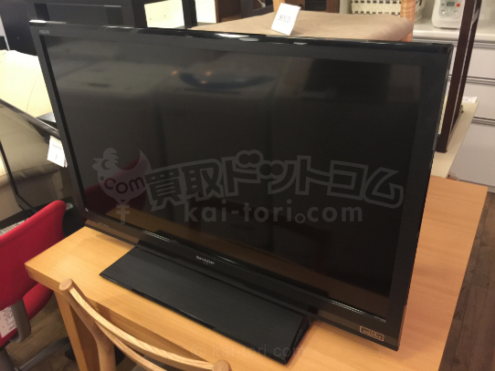 買取金額 17,000円 SHARP/シャープ LC-32H9 32V型 デジタルハイビジョン液晶テレビ LED AQUOS アクオス