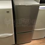 買取金額 5,000円 MITSUBISHI ELECTRIC/三菱電機 MR-P15X-S  2ドア冷蔵庫 146L