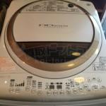 買取金額 16,000円 TOSHIBA/東芝 8.0kg 洗濯乾燥機  AW-80VME1 2014年製