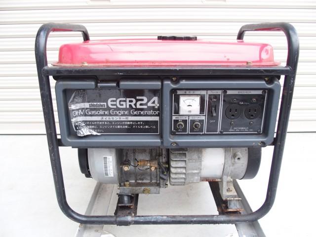 買取金額 10,000円  新ダイワ工業 発電機 EGR-24