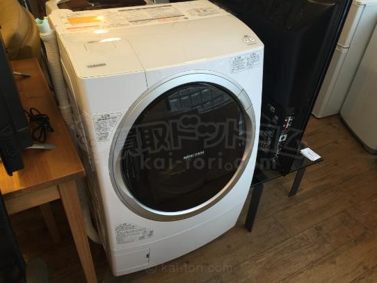 買取金額 40,000円  TOSHIBA/東芝 ドラム式洗濯乾燥機 TW-Z96X2ML 2015年製