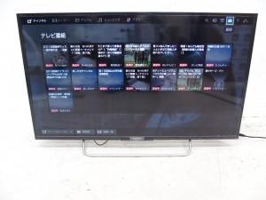 買取金額:17,000円 SONY ソニー ブラビア BRAVIA KJ-40W700C 液晶 TV 40V型