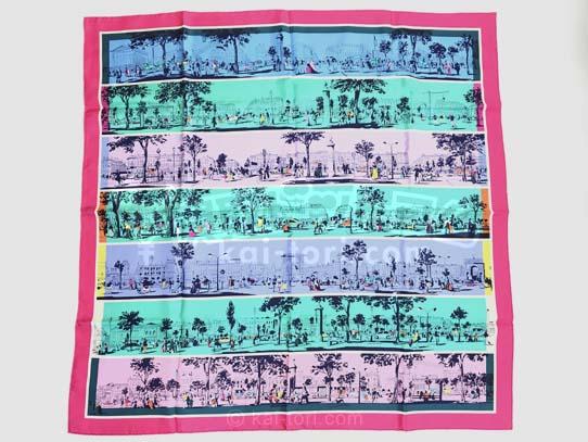 買取金額10,000円 エルメス カレ90 シルクスカーフ