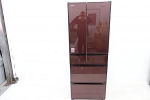 買取金額 40,000円 日立 HITACHI 大型冷蔵庫 6ドア冷蔵庫 R-GS5100H XT クリスタルブラウン GSシリーズ