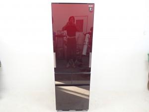 買取金額 30,000円 SHARP シャープ プラズマクラスター どっちもドア ガラストップ 冷蔵庫 SJ-GT41B 410L 2016年製