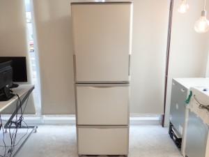 買取金額:20,000円 ■美品■2018年製■【SHARP シャープ】SJ-W352D-N 冷蔵庫 350L 3ドア どっちもドア