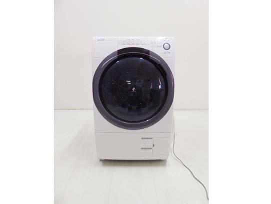 買取金額 40,000円 SHARP シャープ コンパクトドラム洗濯機 洗濯7㎏ 乾燥3.5kg ES-S7C-WL 2018年製