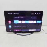 買取金額 30,000円 SHARP シャープ AQUOS アクオス 4K液晶テレビ 4T-C45AL1 45型 2019年製