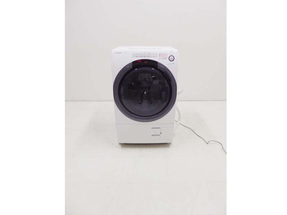 買取金額 30,000円 SHARP シャープ コンパクトドラム洗濯機 洗濯7㎏ 乾燥3.5kg ES-S7C-WL 2018年製