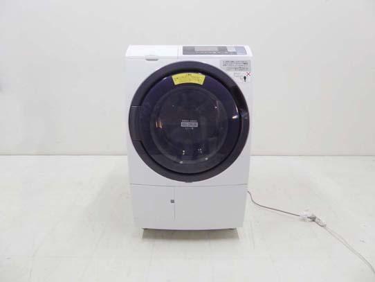 買取金額 25,000円  HITACHI 日立 ヒートリサイクル 風アイロン ビッグドラム BD-SG100BL 10キロ 2017年製