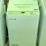 買取金額 6,000円  SHARP 縦型洗濯乾燥機 ES-T5CBK-N 洗濯5.5kg /乾燥3.5kg 2019年製