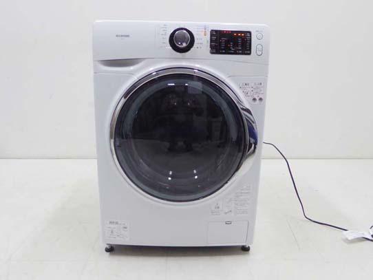 買取金額 10,000円 IRIS OHYAMA アイリスオーヤマ ドラム式洗濯機 温水洗浄機能付き FL71-W 2019年製