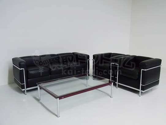 Cassina/カッシーナ LC2 ソファセット 超美品 港区にて買取しました。