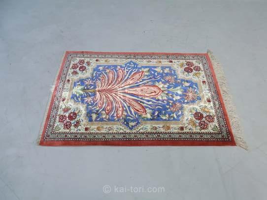 ペルシャ絨毯 Qum/クム 玄関マット 手織り 買取In東京