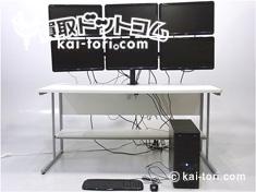 6画面マルチモニター+PC