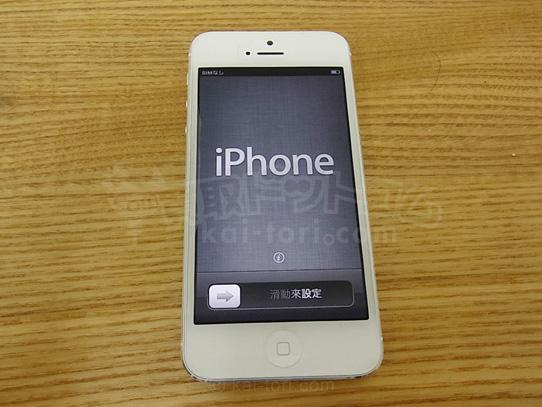 Apple / アップル SoftBank /ソフトバンク  iPhone5 16GB 白