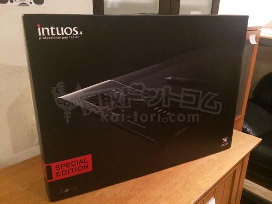 買取金額 5000円 Wacom プロフェッショナルペンタブレット Mサイズ Intuos4 PTK-640/K2