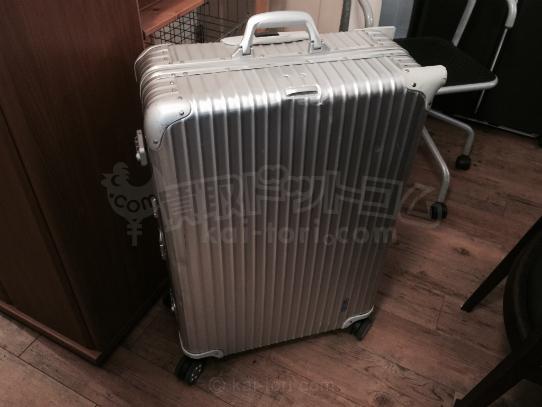 買取金額 ¥28,000 RIMOWA/リモワ  TOPAS トパーズ トロリーケース 932.77  104L