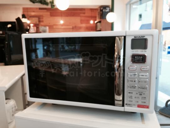 買取金額2800円 SHARP/シャープ オーブンレンジ 15L ホワイト系 RE-S15F Joshinモデル RE-S180C-W
