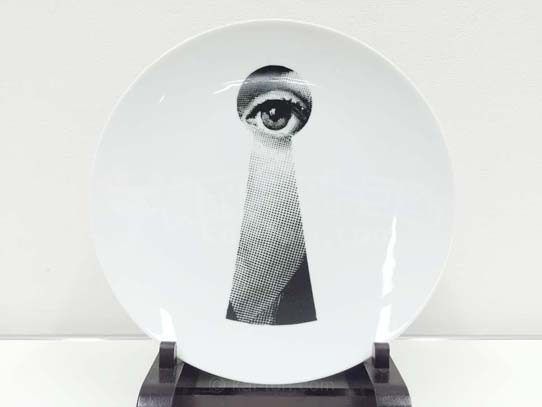 買取金額 2,000円 FORNASETTI フォルナセッティ プレート 皿