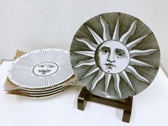買取金額 15,000円 FORNASETTI フォルナセッティ Soleプレート 皿 6枚セット
