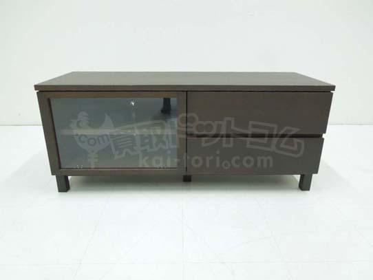 買取金額 3,000円 無印良品 TVボード AVラック W110cm