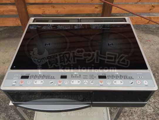 買取金額 3,000円 【東芝】IHクッキングヒーター UHP-M321 10年製 ビルトイン