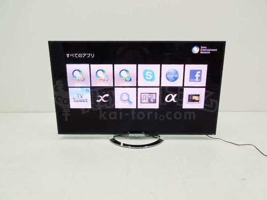 買取金額 50,000円 SONY ソニー 55インチ 液晶TV KDL-55W900A 2013年製
