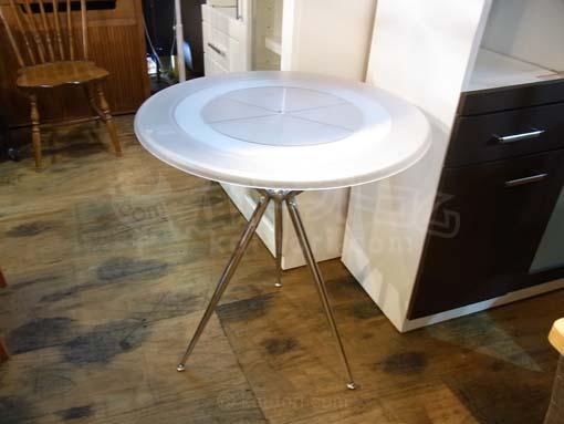買取金額¥5,000 Baleri Italia/バレリイタリア ラウンドカフェテーブル