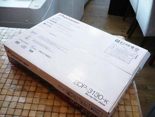 買取金額 3,000円 パイオニア BD ブルーレイプレーヤー BDP-3130