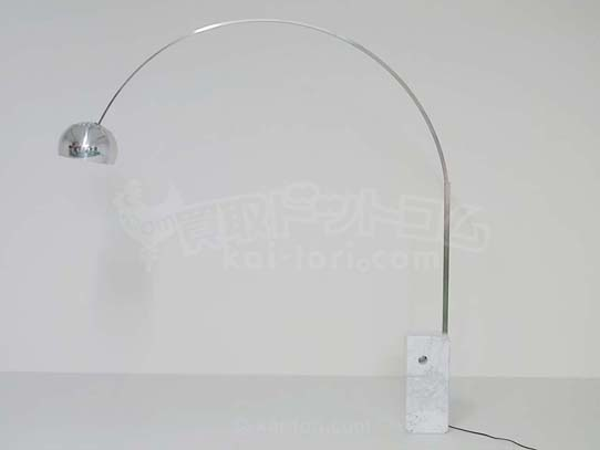 買取金額 65,000円 イタリア FLOS フロス社 ARCO アルコランプ 2012年製