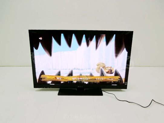 買取金額 20,000円 SONY ソニー ブラビア 液晶テレビ KDL-40HX80R ブルーレイ 3D対応 2011年製