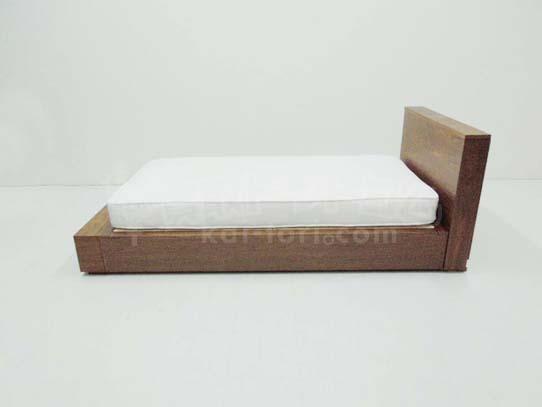 買取金額 5,000円 無印良品 収納ベッド シングル ウォールナット ヘッドボード 収納台付