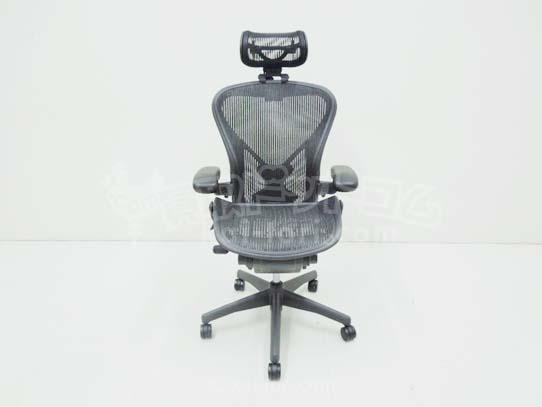 買取金額 40,000 HarmanMiller ハーマンミラー アーロンチェア ポスチャーフィット フル装備 Bサイズ ヘッドレスト付 2013年製