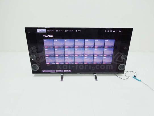 買取金額 110,000円 SONY ソニー BRAVIA ブラビア X9200B 液晶テレビ 高画質4K 2014年製
