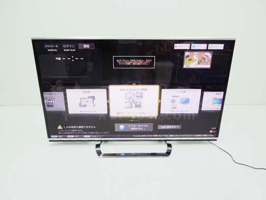 買取金額 250,000円 SHARP シャープ 液晶テレビ AQUOS クアトロンプロ 3D LC-80XL10 2014年製