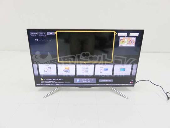 買取金額 50,000円 SHARP シャープ AQUOS アクオス液晶テレビ 4K  LC-40U20  2015年製