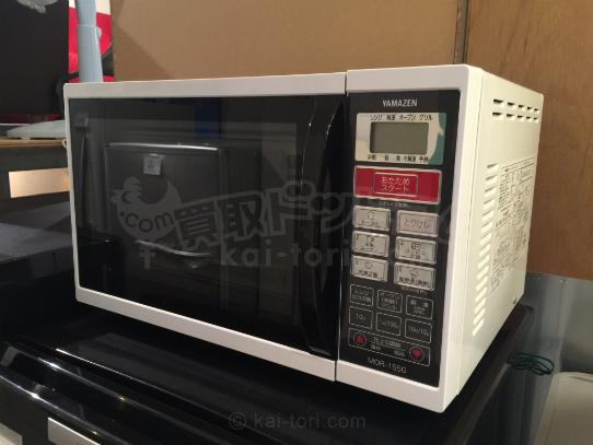 買取金額 3,000円 山善/YAMAZEN  オーブンレンジ 電子レンジ MOR-1550