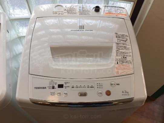 買取金額 4,000円 TOSHIBA/東芝 全自動洗濯機  AW-42ML