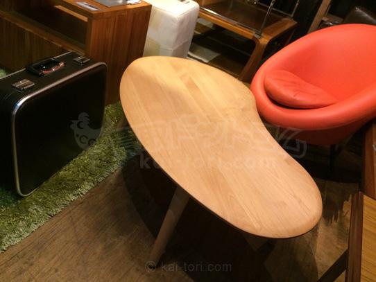 買取金額3500円 mofy アルダー材コーヒーテーブル