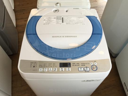 買取金額 10,000円 SHARP/シャープ  ES-GE70R 全自動洗濯機 7.0kg