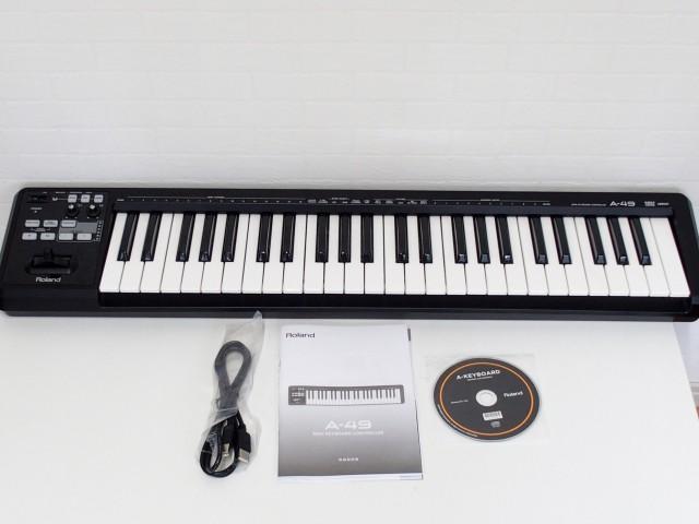 買取金額 5,000円 ローランド/Roland キーボード A-49-BK