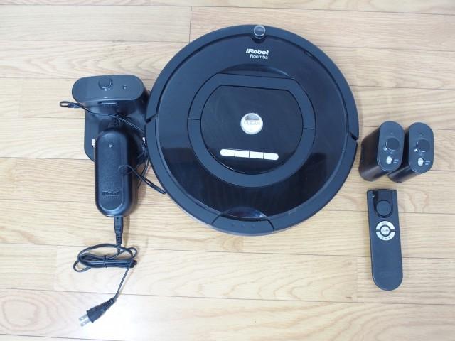 買取金額:6,000円  故障品 iRobot/アイロボット ルンバ770 ロボット掃除機