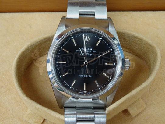 買取金額220,000円 ロレックス エアキング Ref.14000M  腕時計