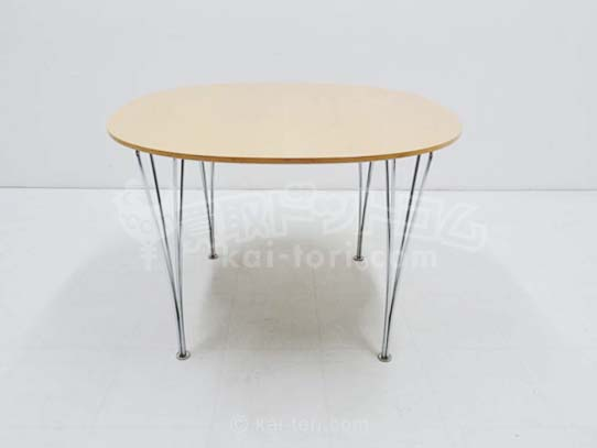 買取¥10,000 Fritz Hansen フリッツハンセン Bテーブル スパンレッグ