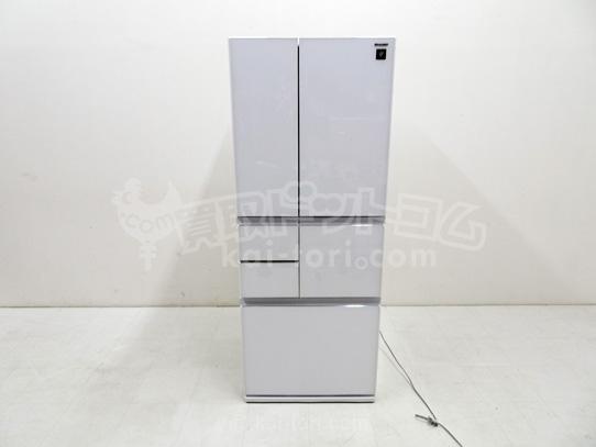 買取金額 ¥68,000 SHARP シャープ プラズマクラスター 冷蔵庫 SJ-GT48C-W 2017年製