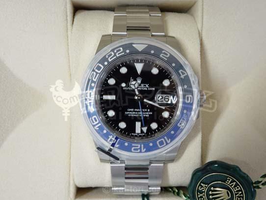 買取金額1,050,000円 ロレックスGMTマスターⅡ Ref,166710BLNR  新品未使用完品